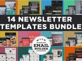 Teaser Email Templates Bundle Of 14 Email Newsletter Templates Mailchimp