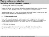 Technical Director Cover Letter Technical Project Manager Cover Letter