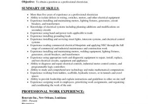 Technical Skills for Electrical Engineer Resume Electrical Engineer Resume Objective Vizual Resume