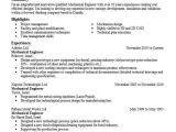 Technical Skills for Mechanical Engineer Resume Mechanical Engineer Objectives Resume Objective Livecareer