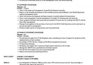 Technical Support Engineer Resume Doc It Support Engineer Resume Samples Velvet Jobs