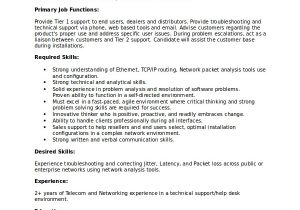 Technical Support Engineer Resume Doc Technical Resume Template 6 Free Word Pdf Document
