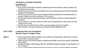 Technical Support Engineer Resume Technical Support Engineer Resume Samples Velvet Jobs