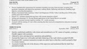 Teller Resume Sample Bank Teller Resume Sample Writing Tips Resume Genius