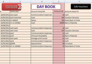 Template Accounts for Small Company Red Small Business Accounting Excel Templates