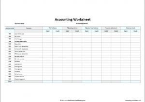 Template Accounts for Small Company Simple Accounting Template Screenshot General Ledger Excel