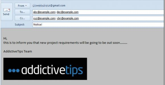Template Emails In Outlook 2010 Create Use Email Templates In Outlook 2010