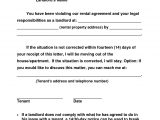 Template for 30 Day Notice to Landlord 10 Best Images Of 30 Day Notice to Landlord Template