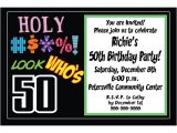 Template for 50th Birthday Invitations Free Printable Free Printable 50th Birthday Invitations Templates