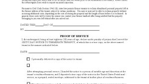 Template for 60 Day Notice to Vacate Free California 60 Day Notice to Vacate form as Of 2013