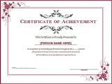 Template for A Certificate Of Achievement 15 Training Certificate Templates Free Download Designyep