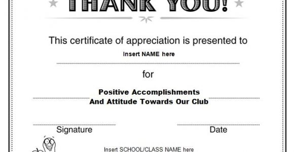 Template for A Certificate Of Appreciation 30 Free Certificate Of Appreciation Templates and Letters