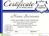 Template for A Certificate Of Appreciation Sample Certificate Of Appreciation for Employees Image