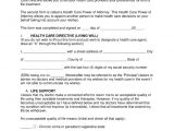 Template for A Living Will Free Living Will forms Advance Directives Medical Poa