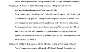 Template for Annotated Bibliography Apa format 10 Annotated Bibliography Free Sample Example format