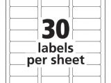 Template for Avery 5160 Labels From Excel Avery Templates 5160 Tryprodermagenix org