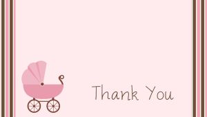 Template for Baby Shower Thank You Cards Free Baby Shower Thank You Card Templates Ideas Anouk