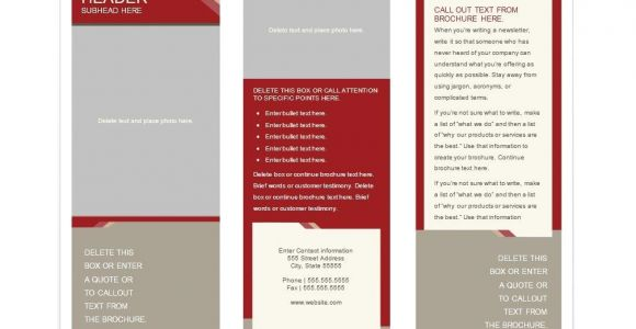 Template for Brochure Free Download 31 Free Brochure Templates Ms Word and Pdf Free