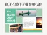 Template for Half Page Flyer Half Page Flyer Template Templates Creative Market