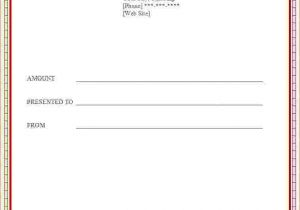 Template for Making A Gift Certificate 6 How to Make A Certificate In Word Bookletemplate org