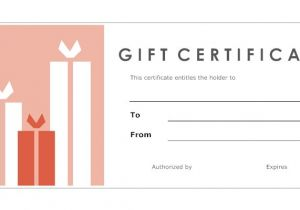 Template for Making A Gift Certificate 8 Best Images Of Print Your Own Gift Certificates Make