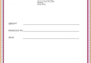 Template for Making A Gift Certificate How to Make A Certificate In Wordreference Letters Words