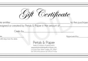 Template for Making A Gift Certificate Make Your Own Gift Certificate Journalingsage Com
