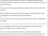 Template for Resume Cover Letter Nursing Resume Cover Letter Template Sample Templates