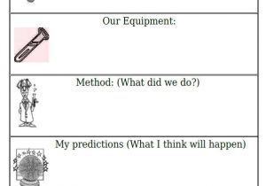Template for Science Experiment A Simple Introduction to the Scientific Method Science