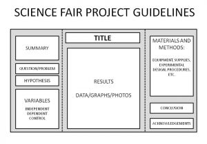 Template for Science Experiment Science Fair Coach Com Part 4