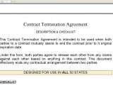 Template for Termination Of Contract Contract Termination Agreement Youtube