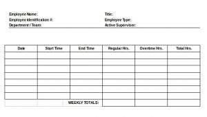 Template for Timesheets for Employees 22 Employee Timesheet Templates Free Sample Example