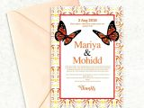 Template for Wedding Card Invitation Congratulations Card Template In 2020 with Images