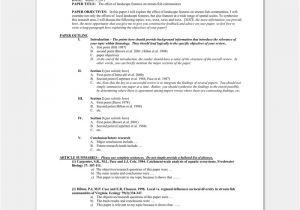 Template for Writing A Literature Review Literature Review Outline Template 20 formats Examples