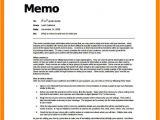 Template for Writing A Memo 5 How to Write A Memo format Emt Resume