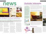 Template Layout Majalah Love Graphic Design Indesign Magazine Template 02
