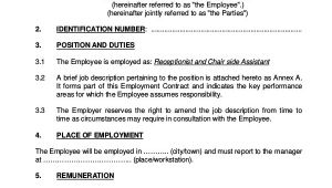 Template Of An Employment Contract 18 Employment Contract Templates Pages Google Docs