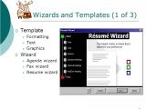 Templates and Wizards Exploring Microsoft Word Ppt Download