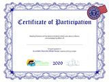 Templates for Certificates Of Participation Certificate Of Participation Template Playbestonlinegames
