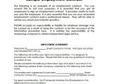 Templates for Employment Contracts 13 Job Contract Templates Pages Word Docs