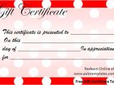 Templates for Gift Certificates Free Downloads Birthday Gift Certificate Templates New Calendar