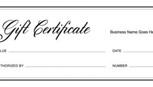 Templates for Gift Certificates Free Downloads Gift Certificate Templates Download Free Gift