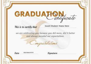 Templates for Graduation Certificates Graduation Certificate Templates for Ms Word
