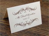 Templates for Place Cards for Weddings 8 Best Images Of Wedding Name Cards Printable Wedding