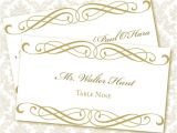 Templates for Place Cards for Weddings 9 Best Images Of Printable Wedding Place Card Templates