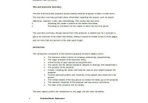 Templates for Proposals In Word Business Proposal Template Word 16 Free Sample Example