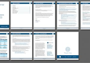 Templates for Proposals In Word Microsoft Word Proposal Template One Piece