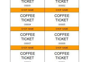 Templates for Tickets with Stubs Alluring Template for Tickets with Stubs Ticketcreator