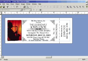 Templates for Tickets with Stubs Templates for Tickets with Stubs Dtk Templates
