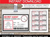 Templating Agent Spy Party Decoration Ideas Elitflat